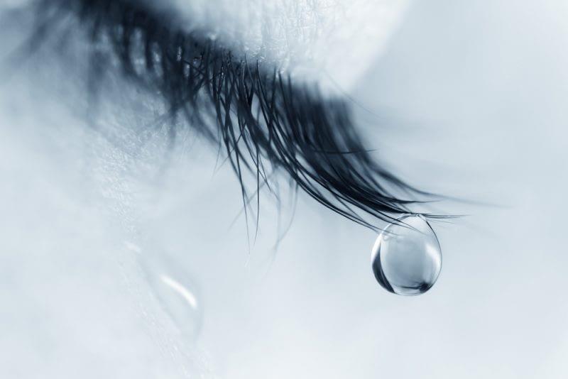 Traan bij huilen - Traan en een Lach